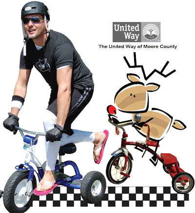 United Way of Moore County Tour de Trike
