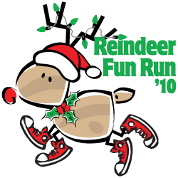 2010 Reindeer Fun Run Logo