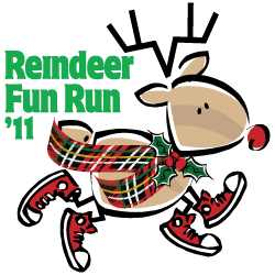 2011 Reindeer Fun Run Logo