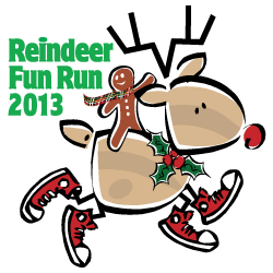2012 Reindeer Fun Run Logo