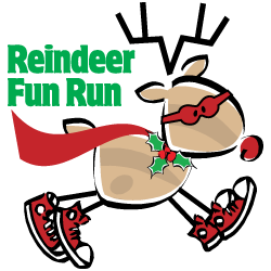 2015 Reindeer Fun Run Super Reindeer Logo