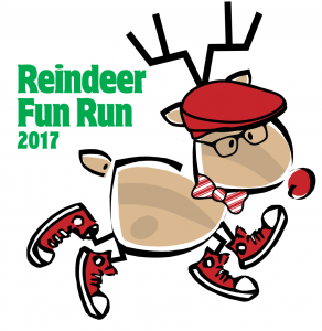 2017 Reindeer Fun Run Logo