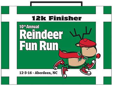 12k Finisher Medal